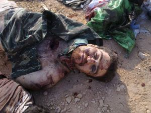 حلب - جريمة ضد الانسانية ارتكبها عناصر فرع الامن العسكري في حلب بحي حلب الجديدة بالصور